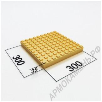 Тактильная плитка 300x300x35