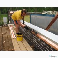 Установка водостока, ремонт водостоков, чистка водостоков
