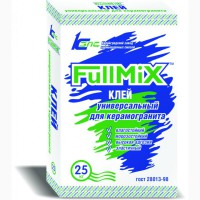 Клей для керамогранита универсальный FullMiX