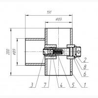 Клапан обратный Н05.355