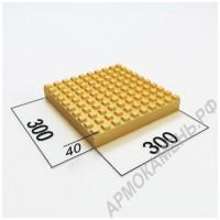 Тактильная плитка 300x300x40