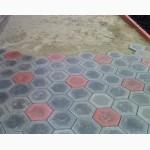 Тротуарная плитка Шестигранник 235х285х40 вибролитой