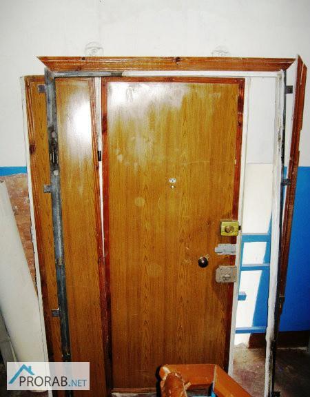 купить входную бу дверь железная