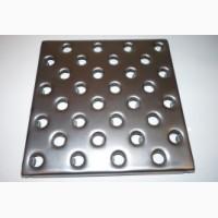 Металлическая перфорированная плитка