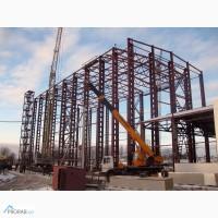 Металлоконструкции сооружений и зданий на заказ