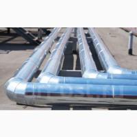 Монтаж теплоизоляции (теплотрассы)