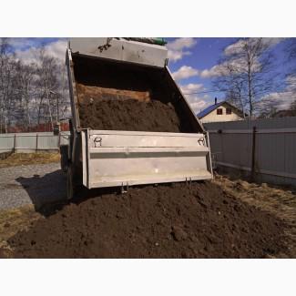 Доставка гравий песок земля пгс от 1м3