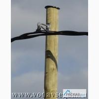 Ремонт, восстановление электрических столбов, опор ЛЭП на АЗС