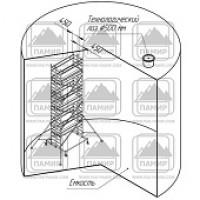 Вышки-туры алюминиевые вта 900 (размер площадки 0, 45х2, 0 м)