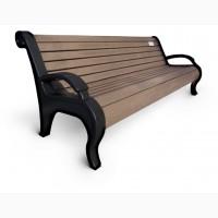 Уличная мебель из экологичных материалов