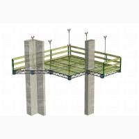 Алюминиевые подвесные леса (апл)