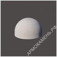 Бетонная полусфера d500хh300 мм (парковочный ограничитель)