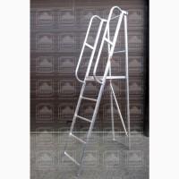 Лестницы-платформы фиксированной высоты (лпфв) алюминиевые