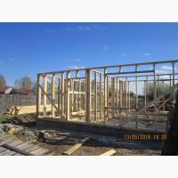 Строительство быстровозводимых домов по каркасной технологии