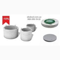 Кольца колодцев бетонные, жби, устройство септика