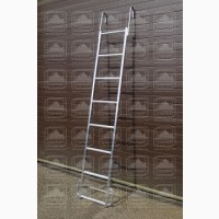 Лестница алюминиевая навесная с алюминиевыми крюками лна-ак