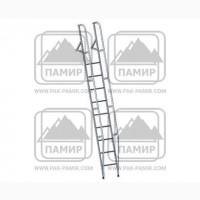Лестница приставная наклонная алюминиевая лпна-3, 25м
