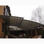Навесы из сотового поликарбоната в Краснодаре