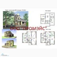 Проекты домов из теплоблоков гранитобетон