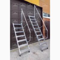 Лестницы приставные наклонные алюминиевые лпна-4, 2 спш, лпна-4, 2 м, лпна-6, 0