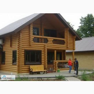 Срубы оцилиндрованные, дома бани мебель в Новочебоксарске