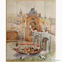 Керамическое панно Средневековье