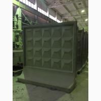 Металлоформы плит бетонных заборов, панелей ограждения