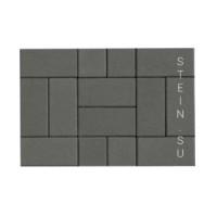 Брусчатка Кирпичик (Тротуарная плитка) 200х100х40 мм