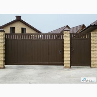 Ворота в краснодаре цена каталог металлические двери и ворота