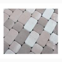 Брусчатка Классико, тротуарная плитка 175х115мм; 115х15мм; 55х115мм