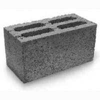 Блоки керамзитобетонные, пустотелые, 390х190х188