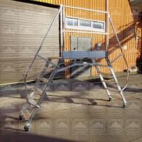 Площадка рабочая передвижная алюминиевая (мостик) прп-м