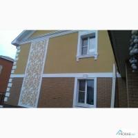 Фасадный декор из пенополистирола с акриловым покрытием