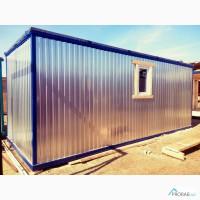 Металлический блок контейнер с зимним, двойным утеплением 100 мм