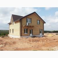 Строим дома, бани, тех.помещения из дерева, кирпича, блоков под ключ