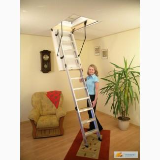 Чердачная лестница OMAN Ножничная Termo 60х120х290мм