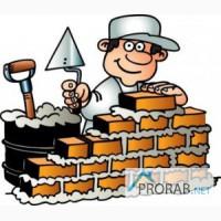 Каменщик, облицовка, строительство в частном секторе, Москва