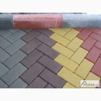 Тротуарная плитка Брусчатка (кирпичик)