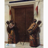 Двери дубовые резные в Саранске