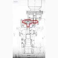 Вал редуктора поворота HJ80-140C для башенных кранов QTZ