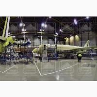 Стремянка передвижная алюминиевая авиационная для самолёта superjet