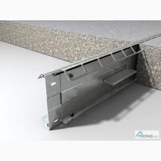 Несъемная опалубка Permaban Eclipse защищает бетон в области шва