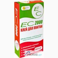 Ес-2000 Клей для плитки для фасадных и внутренних работ, 25кг
