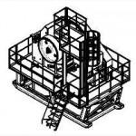 Агрегат дробления щековый АДЩ-500 (ЩДС 6х9)
