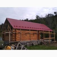Производство и отделка деревянных рубленных домов
