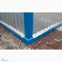 Блок контейнер с плиточным утеплителем