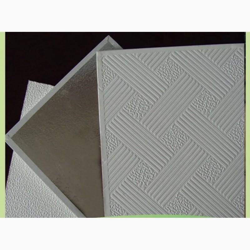 Фото 3. Плита гипсовиниловая потолочная MAGELAN GAMMA 3D
