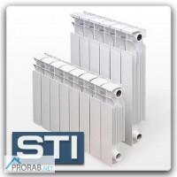 Радиаторы чугун, биметал, алюминий STI модель Нова, Термал, Мандарин