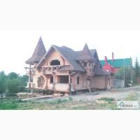 Дома и бани из оцилиндрованного бревна в Сургуте