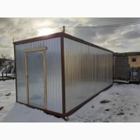 Бытовка вагончик металлический (блок контейнер)
